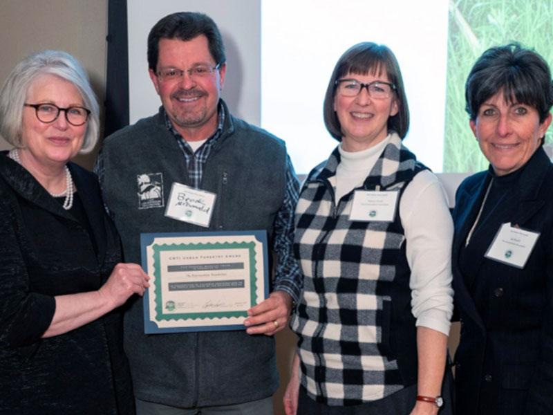 Land Preservation Efforts Earn Urban Forestry Award