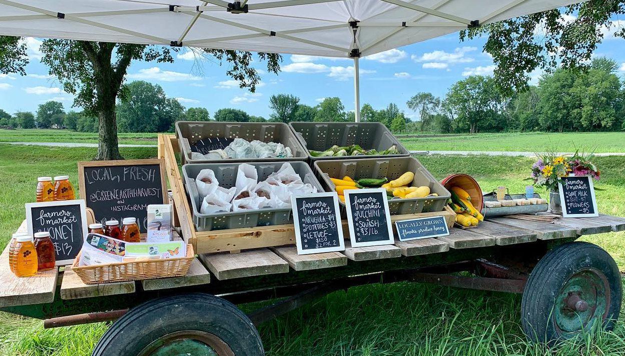 Farmstand Open Thursdays 2-6pm