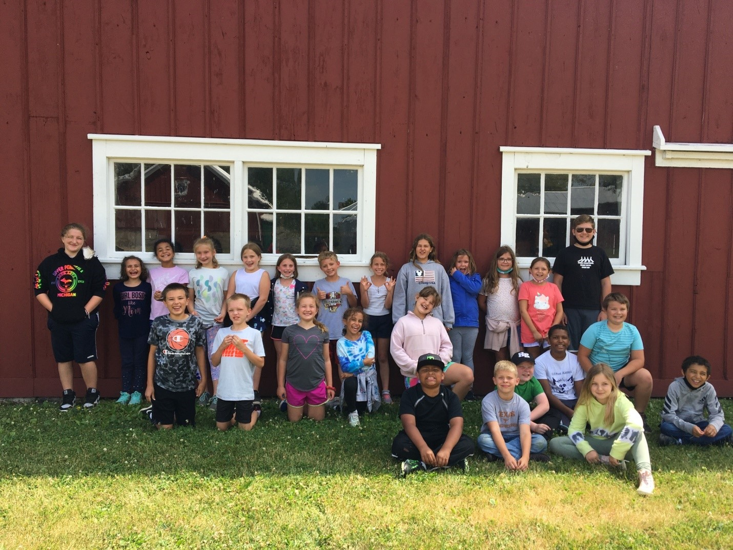 Dickson-Murst Farm Camp Mixes History and Fun for Kids