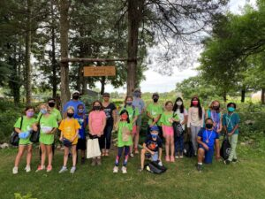 Kids Camp group picture