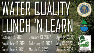 water quality lunch 'n learn banner
